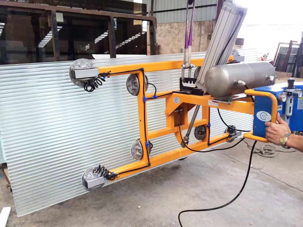 Vacuum Lifter For Textured Glass 1