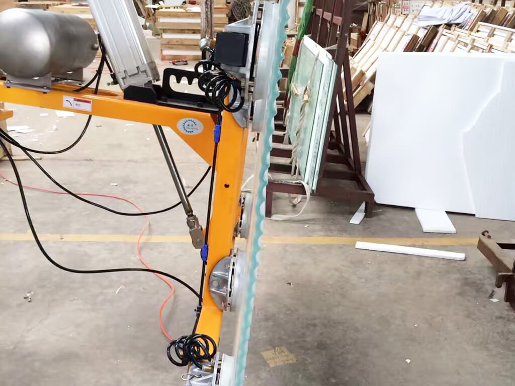 Vacuum Lifter For Textured Glass