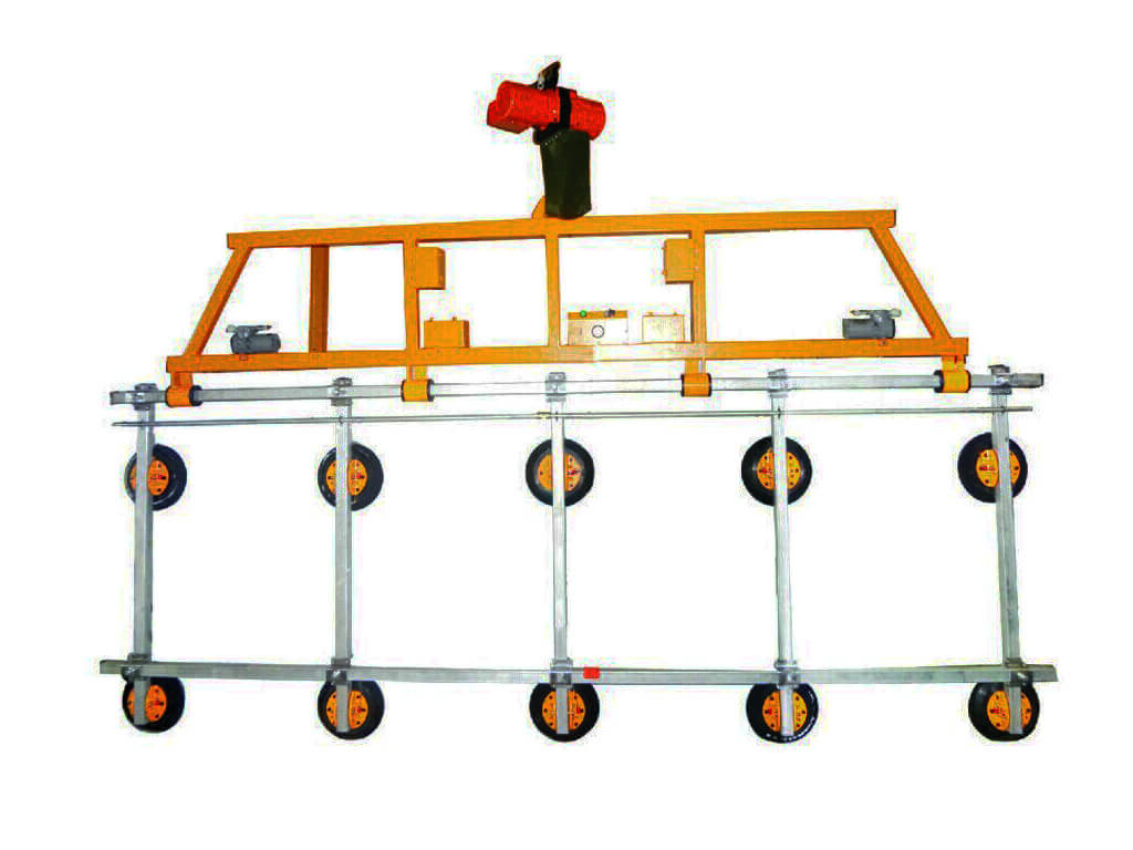 Electric Glass Lifter Vertical Lifting 1
