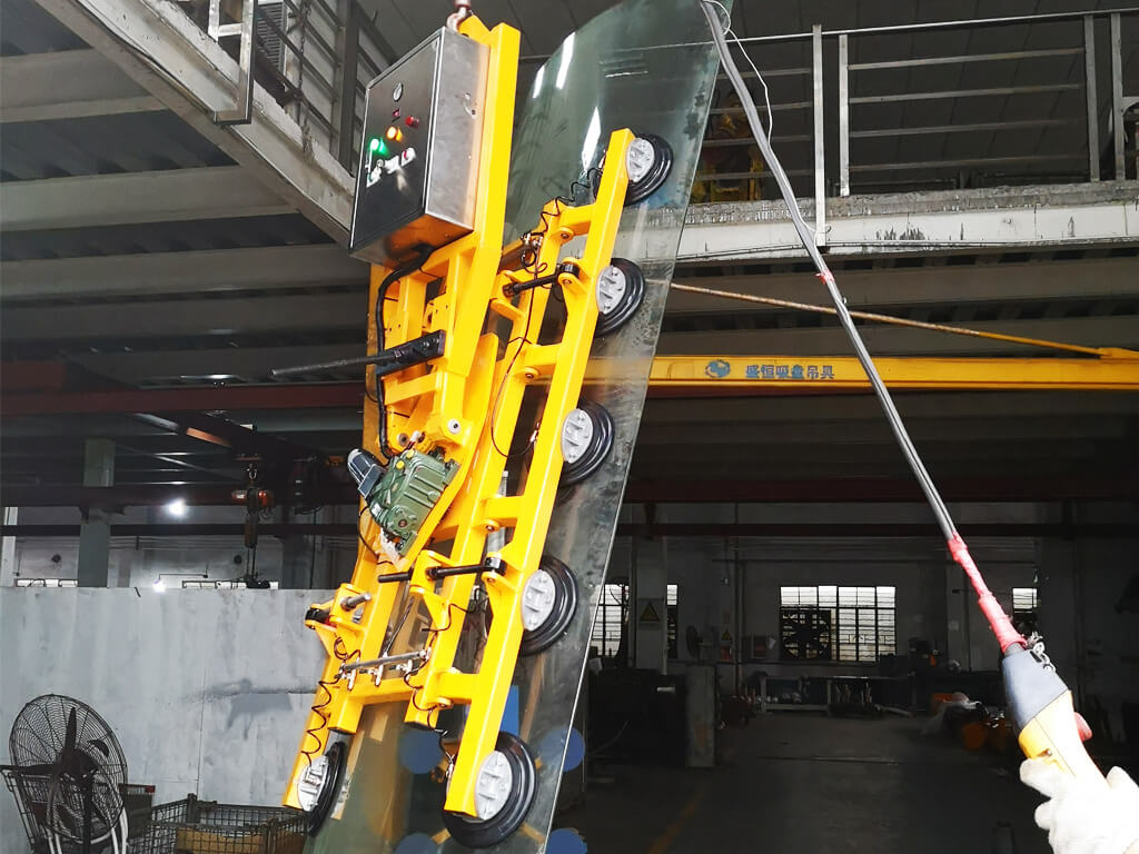Electric Glass Lifter For Curved Glass 3