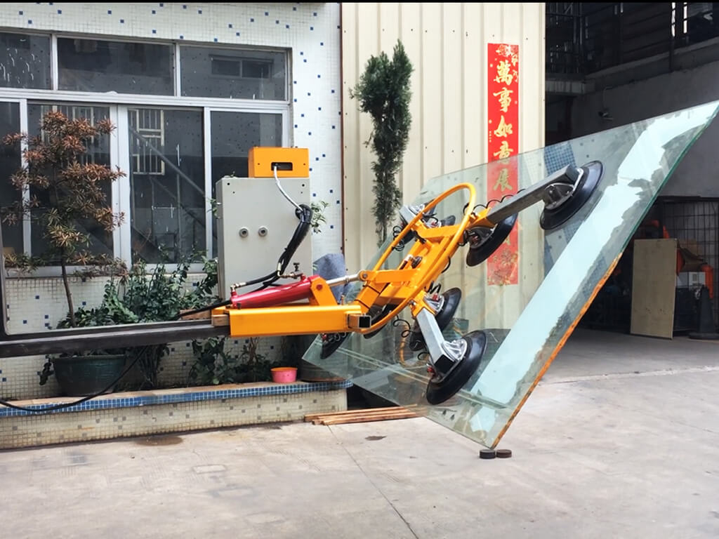 Glass Lifter Mounted On Forklift 3