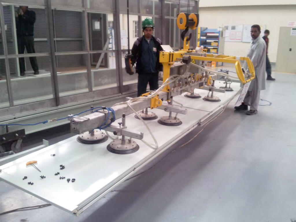 Large Metal Plate Vacuum Lifter 2