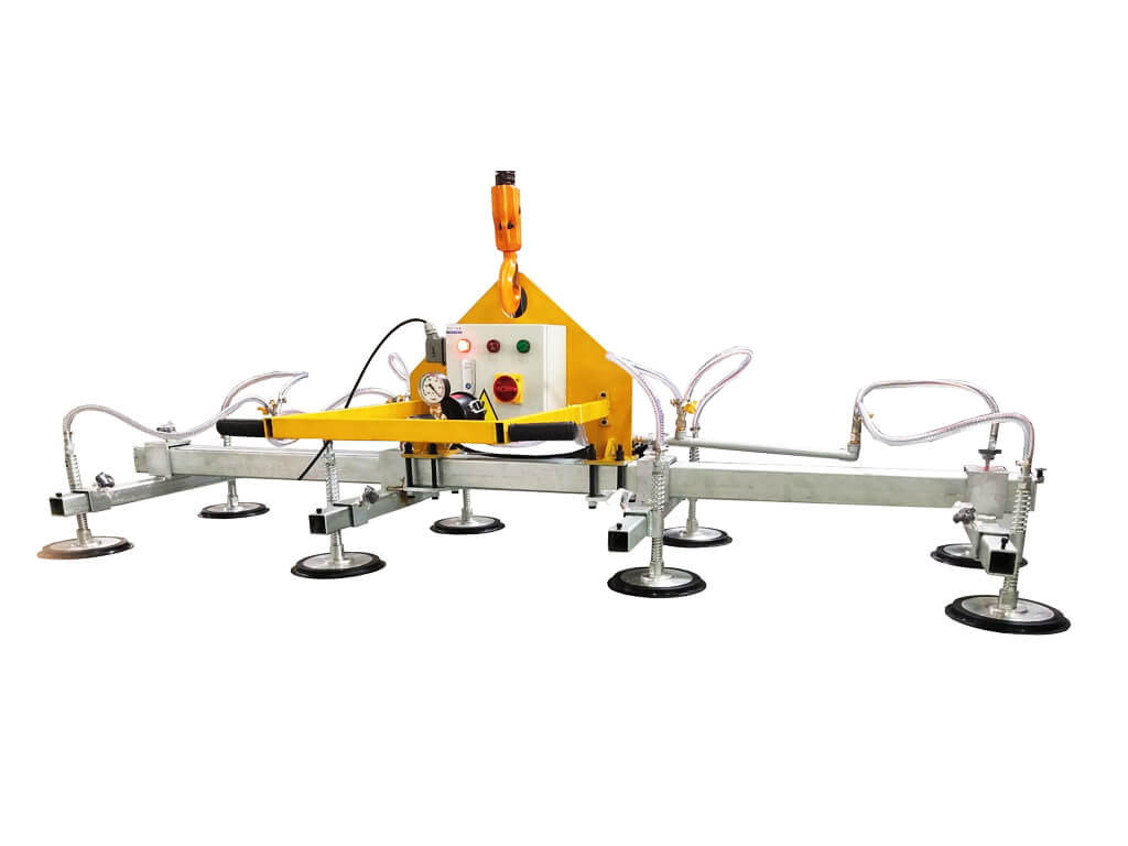 metal sheet vacuum lifter, metal plate lifter, steel plate lifting equipment