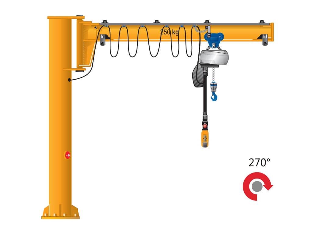 Pillar Jib Crane 5