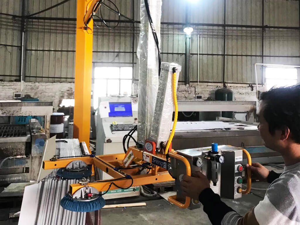 Pneuamtic Slab Lifter For Cutting Processing 7