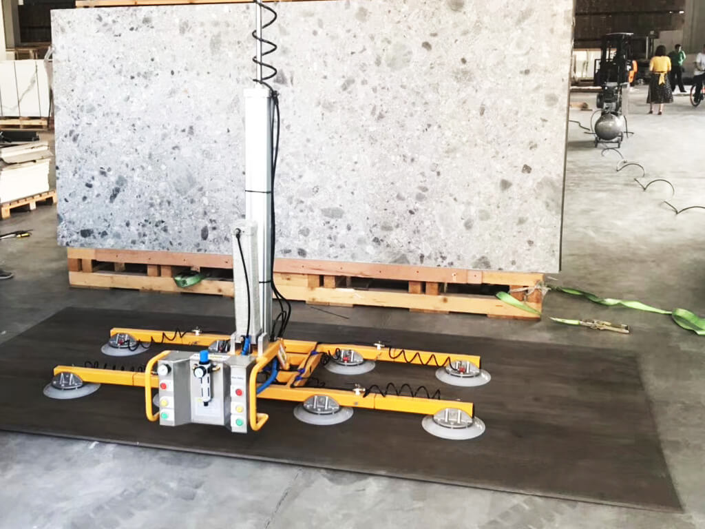 Pneumatic Stone Lifter For Packing And Unpacking 4