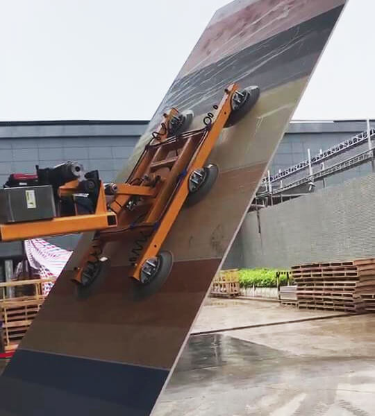 Slab Lifter Mounted On Forklift 1