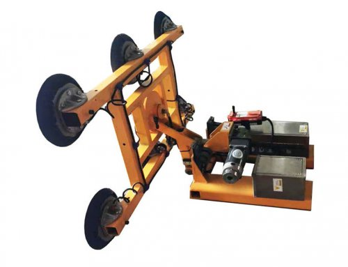 Stone Lifter mounted on Forklift