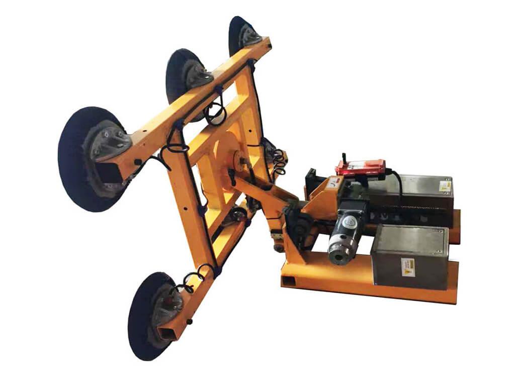 Slab Lifter Mounted On Forklift