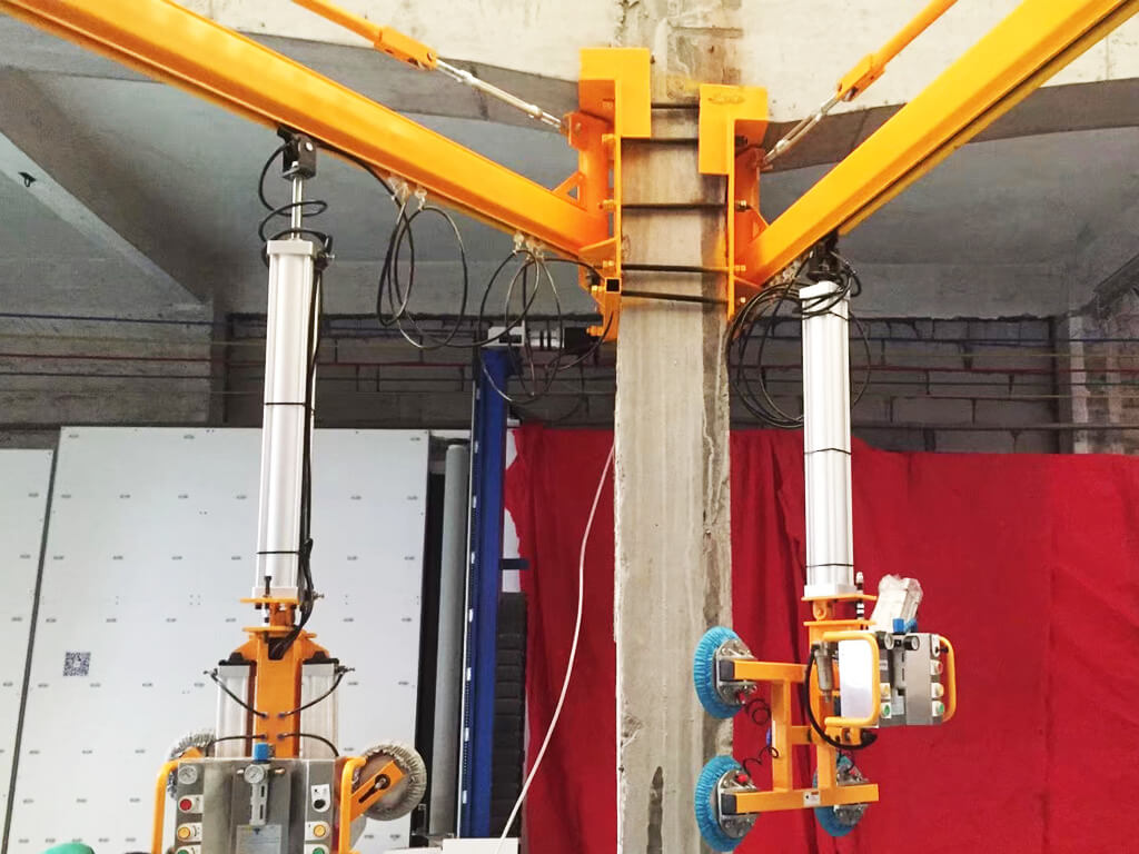 Wall Mounted Slewing Crane 3