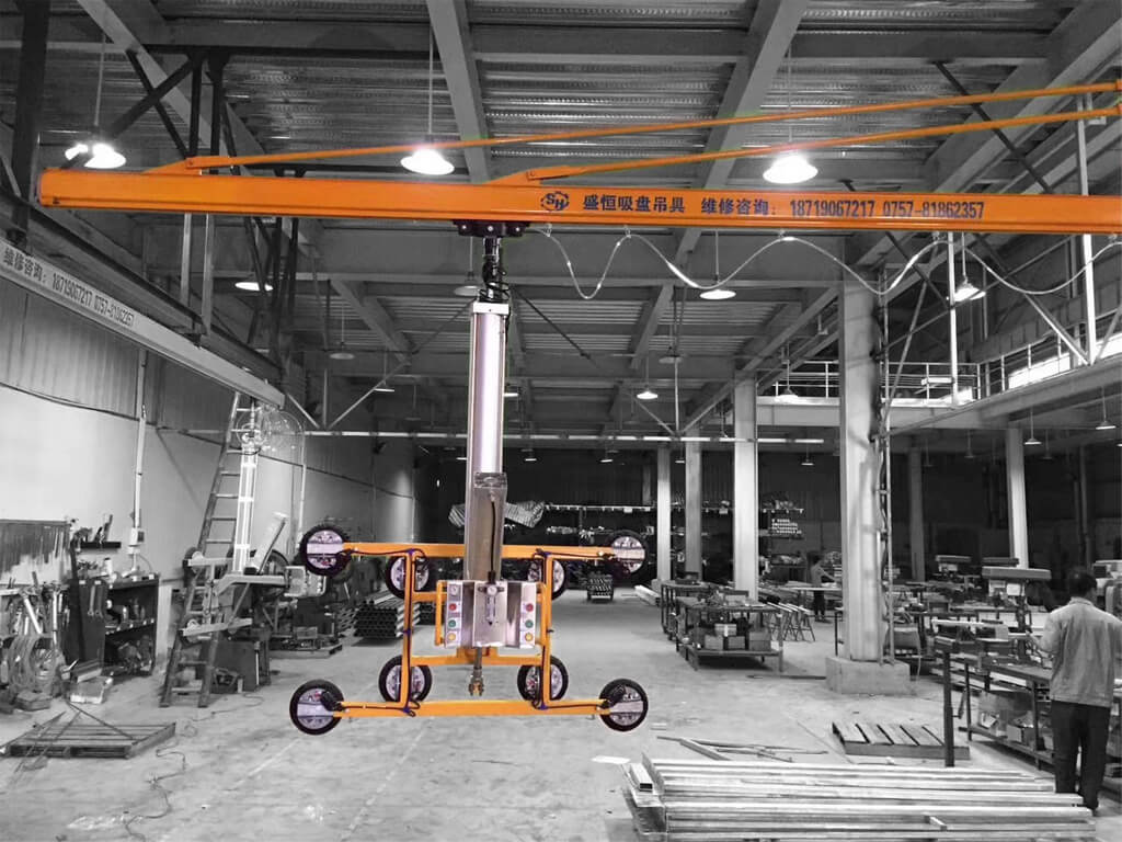 Wall Mounted Slewing Crane 4