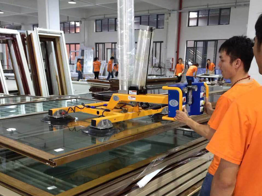 glass vacuum lifter, glazing lifter, glass lifting equipment