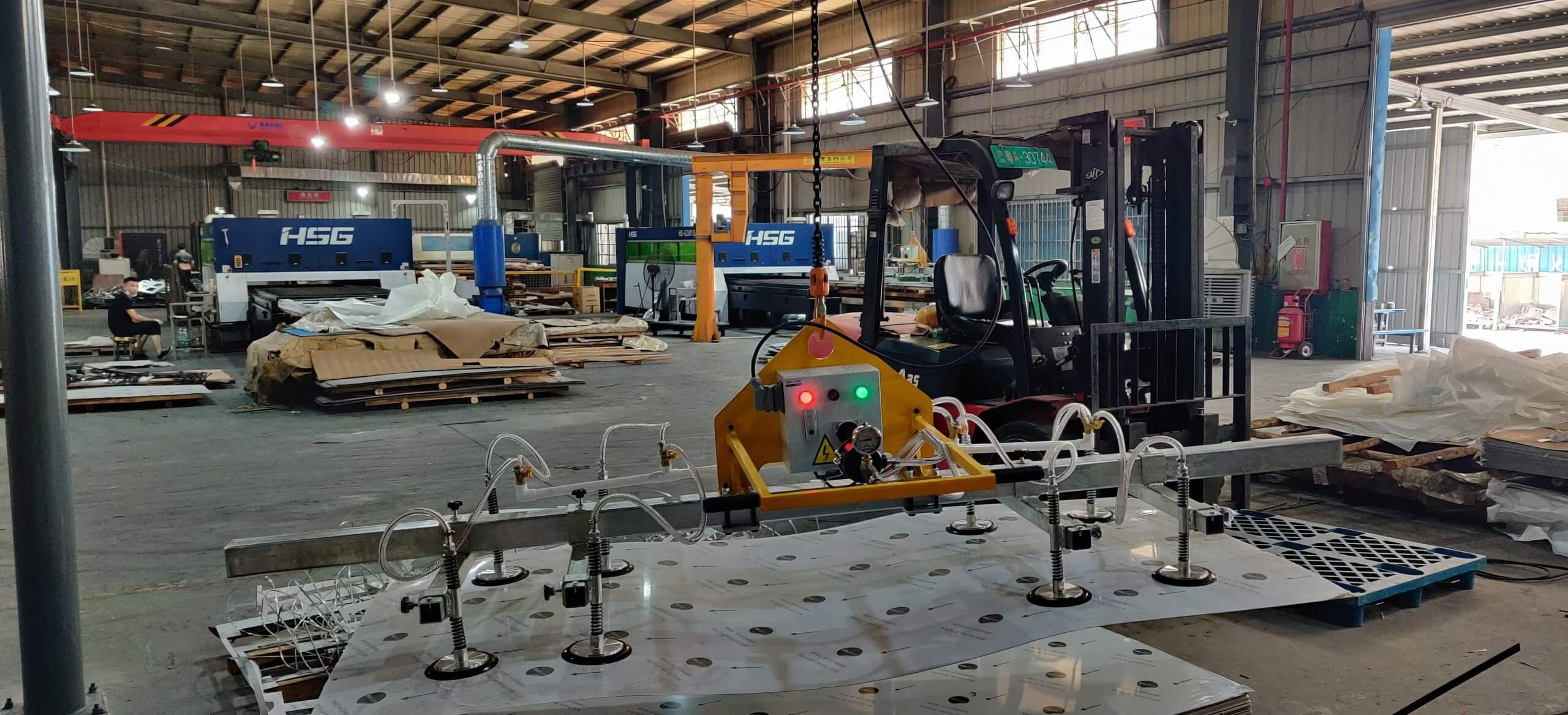 stainless steel plate vacuum lifter