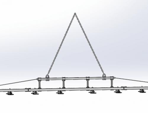 Sheet Metal Vacuum Lifter for A Shipyard