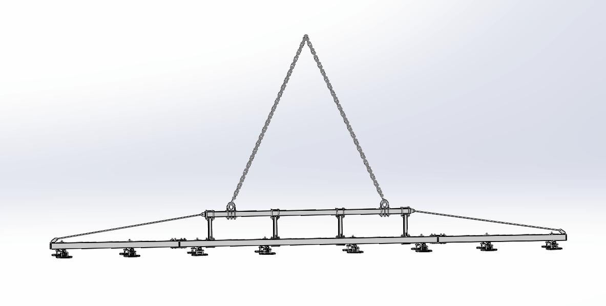 steel plate vacuum lifter