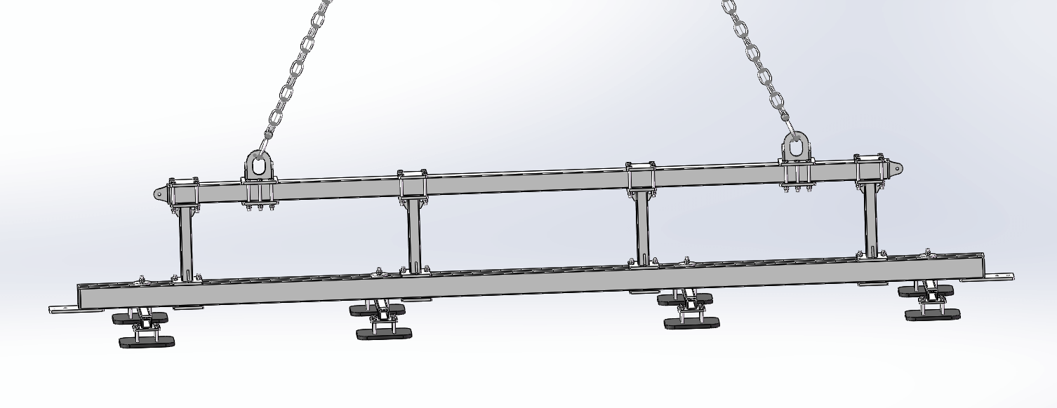 design for steel plate Vacuum Lifter